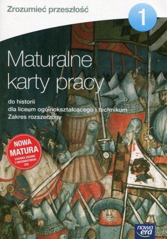 Zrozumieć przeszłość 1. Maturalne - okładka podręcznika