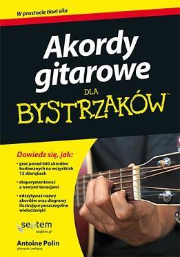 Akordy gitarowe dla bystrzaków - okładka podręcznika