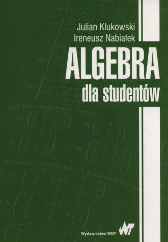 Algebra dla studentów - okładka książki