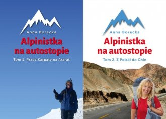 Alpinistka na autostopie. Tom 1-2. - okładka książki