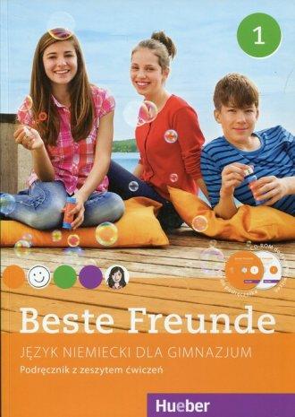 Beste Freunde 1. Podręcznik z zeszytem - okładka podręcznika