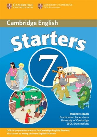 Cambridge English Starters 7. Students - okładka podręcznika