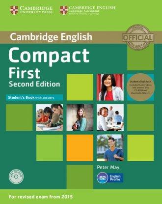 Compact First. Students Book with - okładka podręcznika