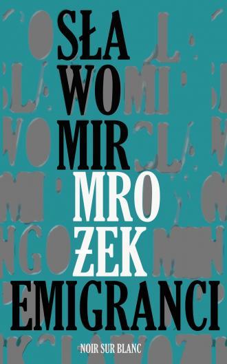 Emigranci - okładka książki