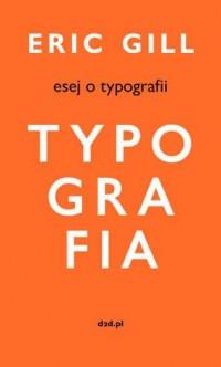 Esej o typografii - okładka książki