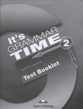 Its Grammar Time 2. Test Booklet - okładka podręcznika