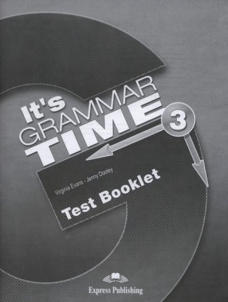 Its Grammar Time 3. Test Booklet - okładka podręcznika