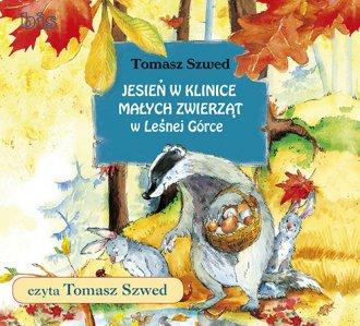 Jesień w Klinice Małych Zwierząt - pudełko audiobooku