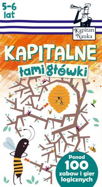 Kapitalne łamigłówki (5-6 lat) - okładka książki
