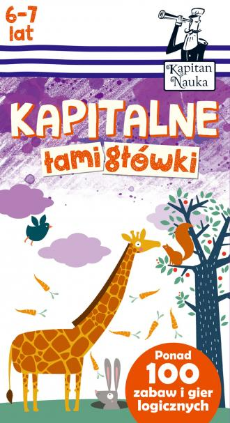 Kapitalne łamigłówki (6-7 lat) - okładka książki