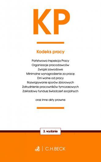 Kodeks pracy oraz ustawy towarzyszące - okładka książki