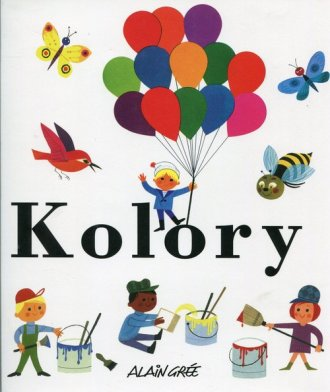 Kolory - okładka książki