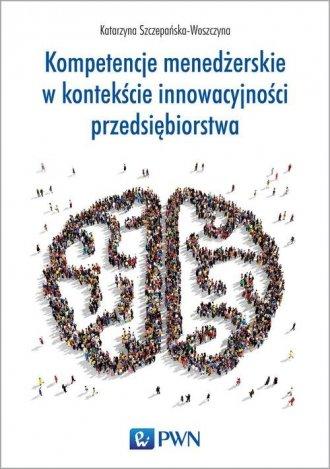 Kompetencje menedżerskie w kontekście - okładka książki
