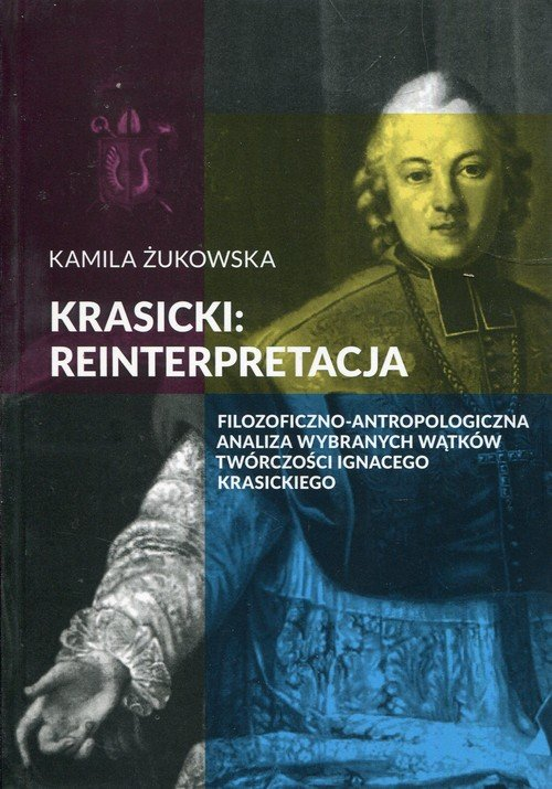 Krasicki reinterpretacja. Filozoficzno-antropologiczna - okładka książki