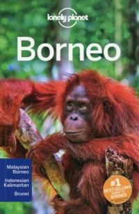 Lonely planet. Borneo - okładka książki