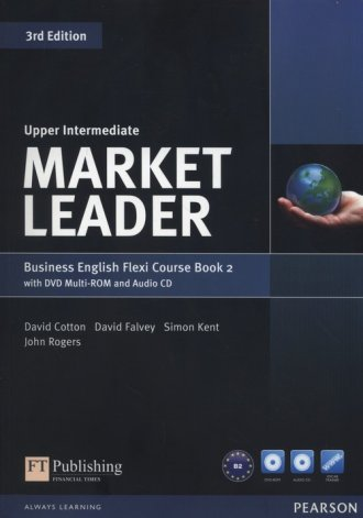 Market Leader. Upper-Intermediate - okładka podręcznika