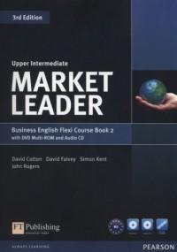 Market Leader. Upper-Intermediate Flexi Couse Book (+ DVD CD) - okładka podręcznika