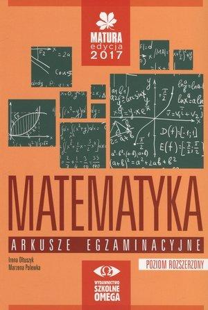 Matematyka. Matura 2017. Arkusze - okładka podręcznika