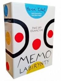 Memo. Labirynty - Herve Tullet - zdjęcie zabawki, gry