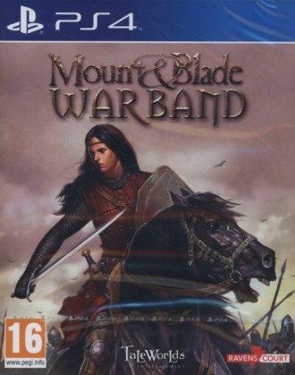 Mount & Blade Warband (PS4) - pudełko programu
