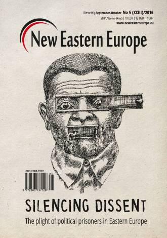 New Eastern Europe 5/2016 - okładka książki