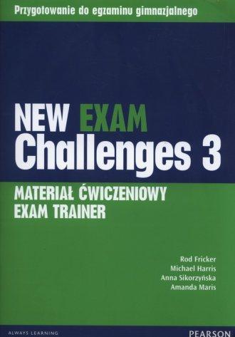 New Exam Challenges 3. Exam Trainer - okładka podręcznika