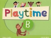 Playtime B. Class Book - okładka podręcznika