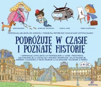 Podróżuję w czasie i poznaję historię - okładka książki
