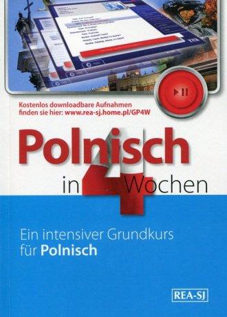 Polski w cztery tygodnie. Niemiecki - okładka podręcznika