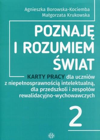 Poznaję i rozumiem świat 2 Karty - okładka podręcznika