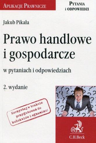 Prawo handlowe i gospodarcze w - okładka książki