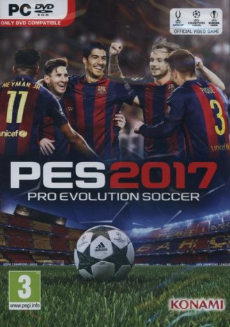 Pro Evolution Soccer 2017 (PC) - pudełko programu