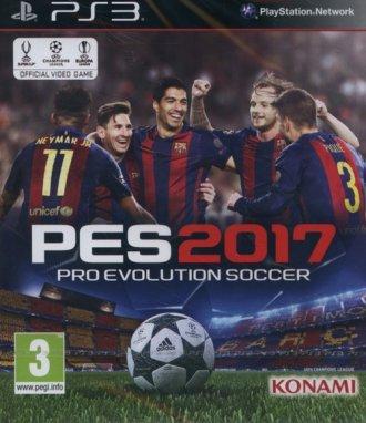 Pro Evolution Soccer 2017 (PS3) - pudełko programu