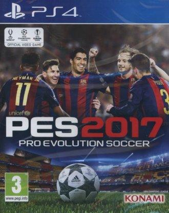 Pro Evolution Soccer 2017 (PS4) - pudełko programu