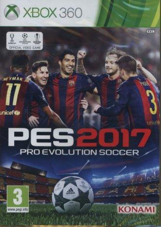 Pro Evolution Soccer 2017 (Xbox - pudełko programu