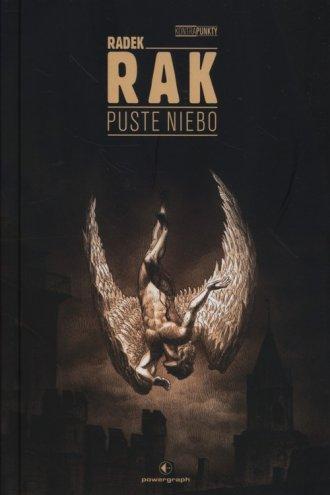Puste niebo - okładka książki
