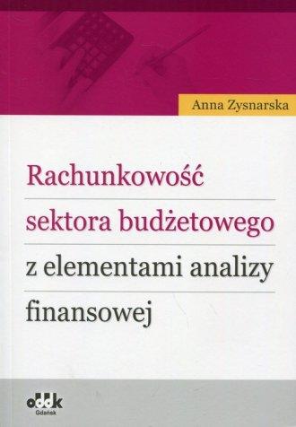 Rachunkowość sektora budżetowego - okładka książki
