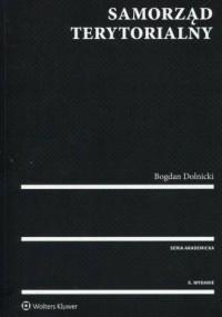 Samorząd terytorialny - Bogdan - okładka książki