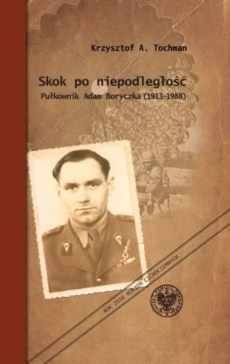 Skok po niepodległość. Pułkownik - okładka książki