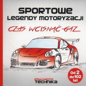 Sportowe legendy motoryzacji. Czas - okładka książki