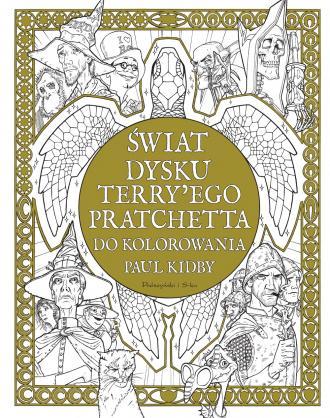 Świat Dysku Terry ego Pratchetta - okładka książki