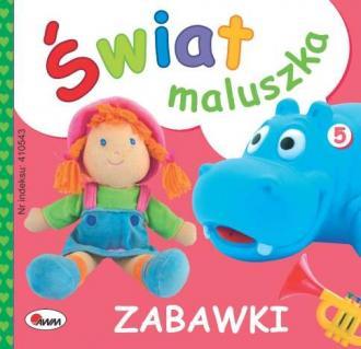 Świat maluszka. Zabawki - okładka książki
