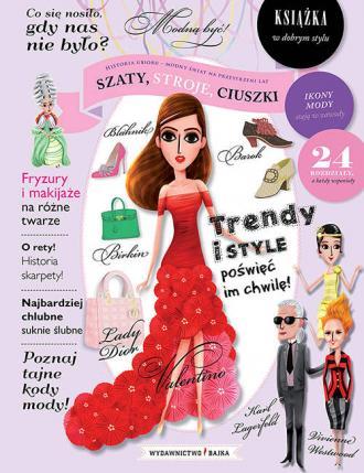 Szaty, stroje, ciuszki - okładka książki