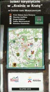Szlaki turystyczne w Krainie w Kratę - okładka książki