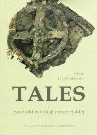 Tales i początki refleksji europejskiej - okładka książki