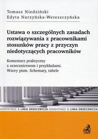 Ustawa o szczególnych zasadach - okładka książki