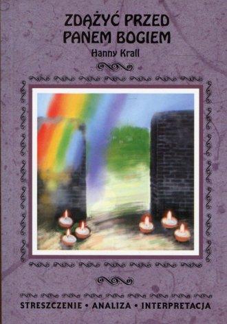 Zdążyć przed Panem Bogiem Hanny - okładka podręcznika