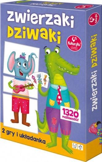 Zwierzaki dziwaki - zdjęcie zabawki, gry