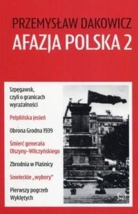 Afazja polska 2 - okładka książki