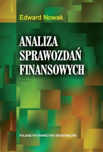 Analiza spawozdań finansowych - okładka książki